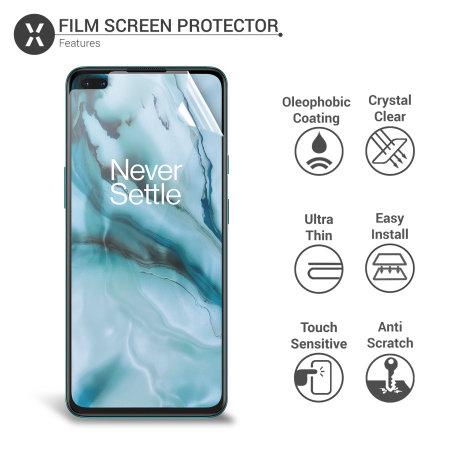 Olixar OnePlus Nord Film Screen Protector 2-in-1 Pack