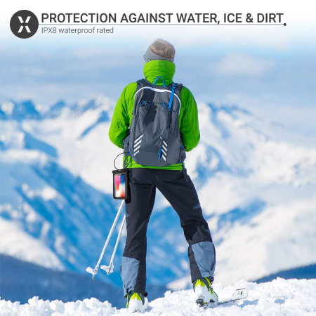 Olixar iPhone 12 Pro Waterproof Pouch - Black