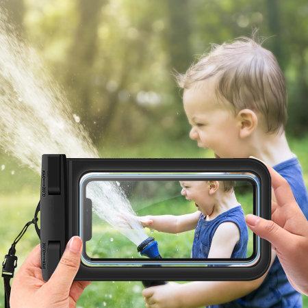 Olixar iPhone 12 Waterproof Pouch - Black