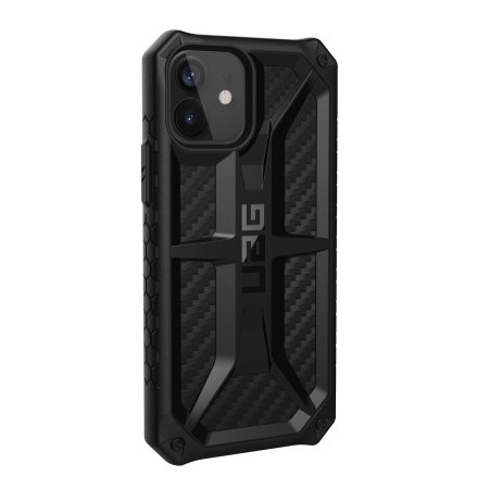 UAG Monarch iPhone 12 Tough Case - Carbon Fibre