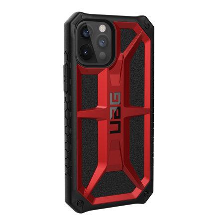 UAG Monarch iPhone 12 Pro Tough Case - Crimson