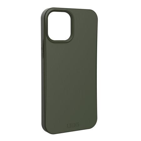 UAG Outback iPhone 12 Biodegradable Case - Olive