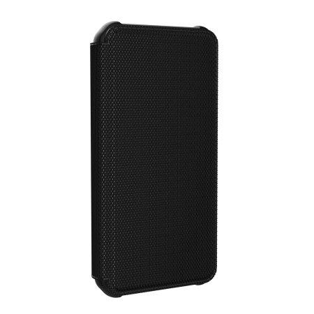 UAG Metropolis iPhone 12 Tough Wallet Case - Kevlar Black
