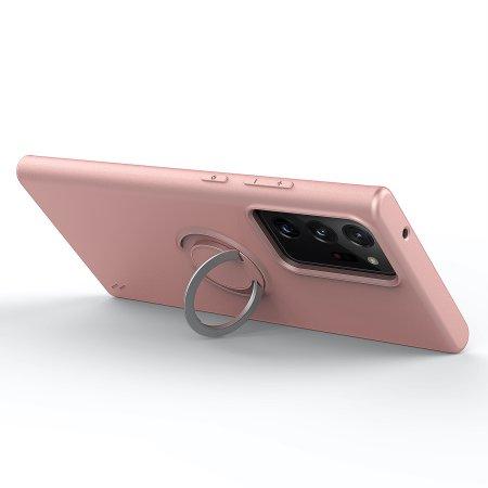 Zizo Revolve Samsung Galaxy Note 20 Ultra Ring Case - Rose Quartz