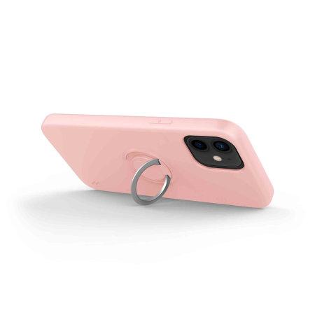Zizo Revolve Series iPhone 12 mini Thin Ring Case - Rose Quartz