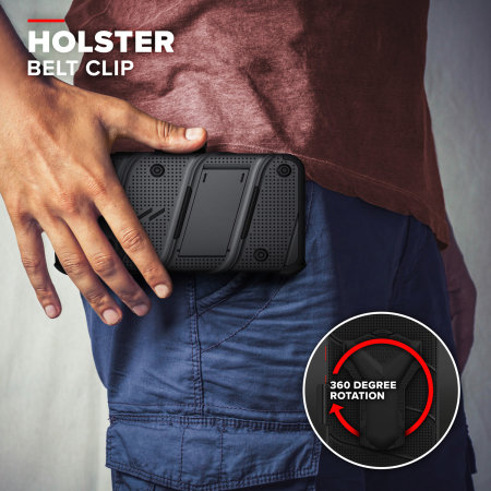 Zizo Bolt Series iPhone 12 mini Tough Case - Black
