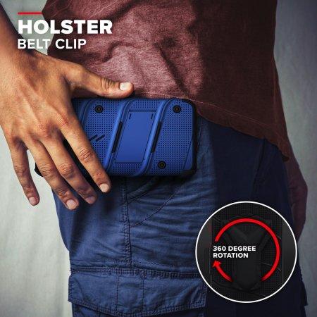 Zizo Bolt Series iPhone 12 Pro Max Tough Case - Blue