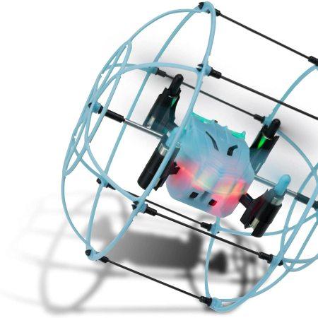 Arcade Mini Pico Cage Remote Controlled Drone  - Blue / Black