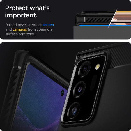 Spigen Rugged Armor Samsung Galaxy Note 20 Ultra - Matte Black