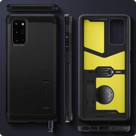 Spigen Tough Armor Samsung Galaxy Note 20 Case - Black