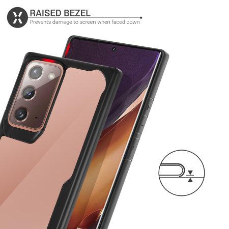 Olixar NovaShield Samsung Galaxy Note 20 5G Bumper Case - Black