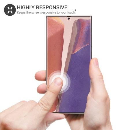 Olixar Front And Back Samsung Galaxy Note 20 5G TPU Screen Protectors