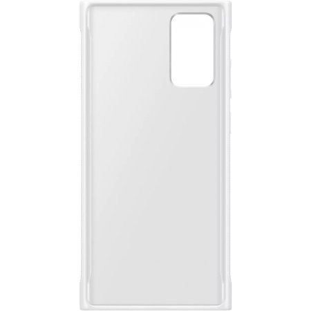 Official Samsung Galaxy Note 20 5G Clear Protective Case - White