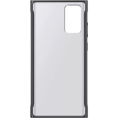 Official Samsung Galaxy Note 20 5G Clear Protective Case - Black