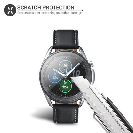 Olixar Samsung Galaxy Watch 3 TPU Screen Protectors - 45mm