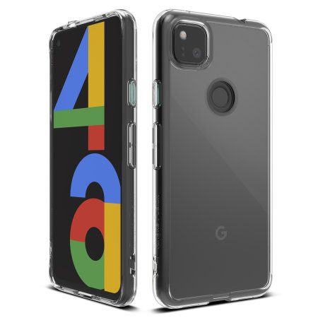 Ringke Fusion Google Pixel 4a Ultra-Thin Case - Clear