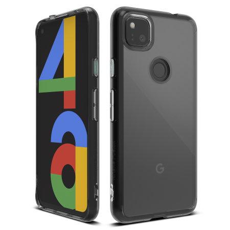 Ringke Fusion Google Pixel 4a Ultra-Thin Case - Smoke Black