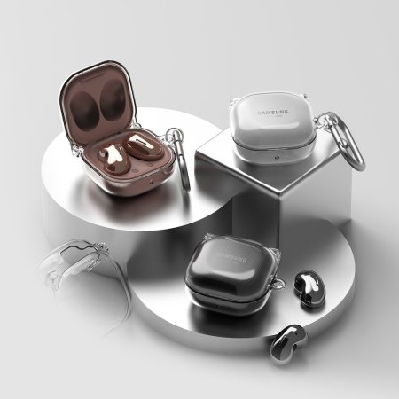 Ringke Samsung Buds Live Hinge Tough Case - Crystal Clear