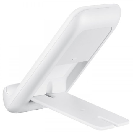 Official Samsung Foldable Fast Wireless Charger Stand 9W - White