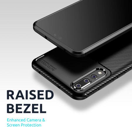 Olixar Carbon Fibre Google Pixel 5 Case - Black
