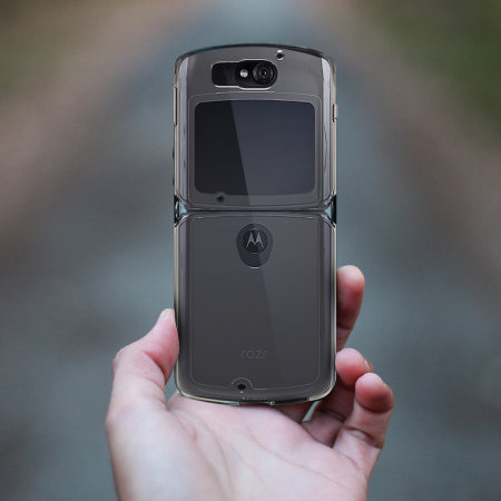 Olixar ExoShield Moto Razr 5G Case - 100% Clear