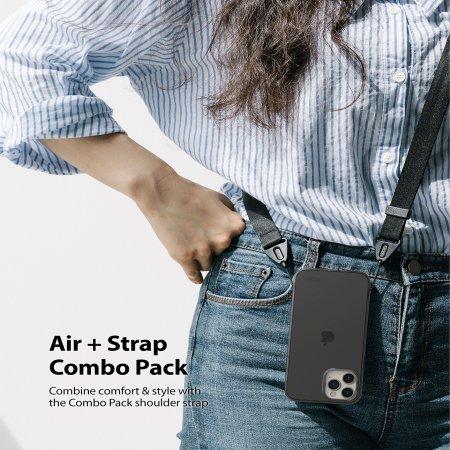 Ringke Air iPhone 12 Pro Max Case - Black