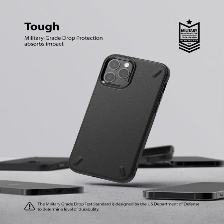 Ringke Oynx iPhone 12 Pro Max Case - Black