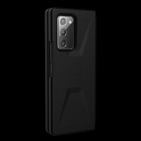UAG Civilian Series Samsung Galaxy Z Fold 2 5G Tough Case - Black
