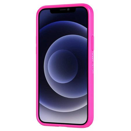 Tech 21 iPhone 12 mini Studio Colour Plant-based Slim Case - Fuchsia