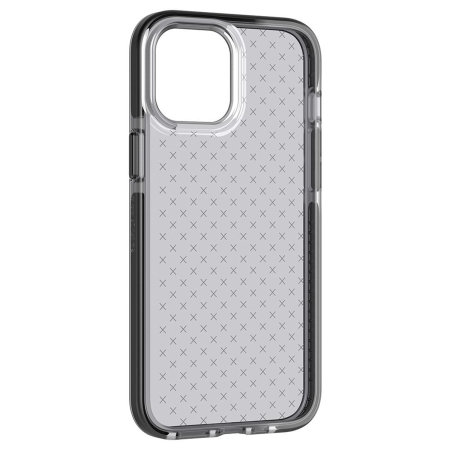 Tech 21 iPhone 12 Pro Max Evo Check Protective Case - Smokey Black