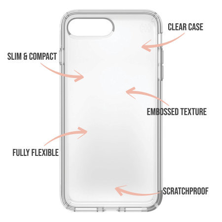 LoveCases iPhone 12 mini White Stars & Moons Case - Clear