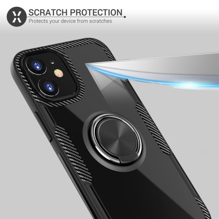 Olixar ArmaRing 2.0 iPhone 12 mini Case - Black