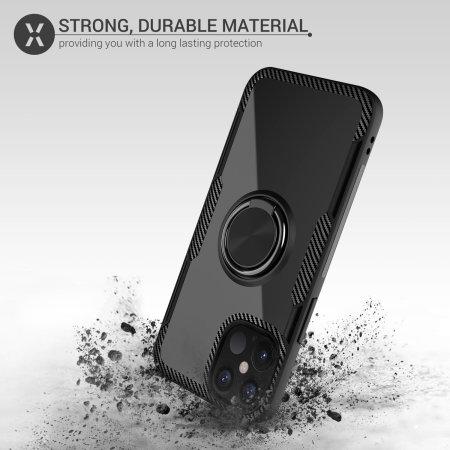 Olixar ArmaRing 2.0 iPhone 12 Pro Max Case - Black