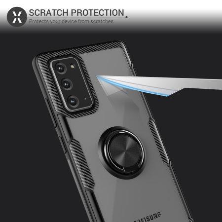Olixar ArmaRing 2.0 Samsung Galaxy Note 20 Case - Black
