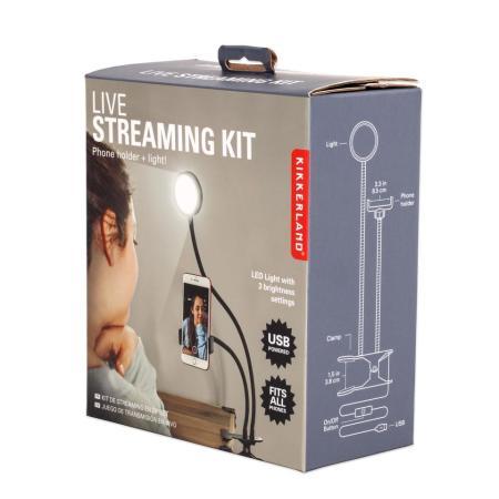 Kikkerland Live Streaming, Vlogging and Selfie Kit