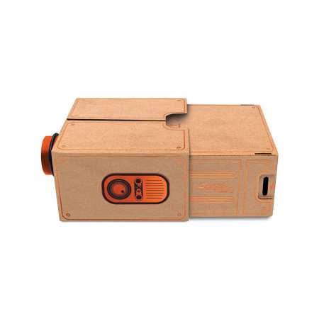 Luckies Portable Cardboard Universal Smartphone Projector 2.0 - Copper