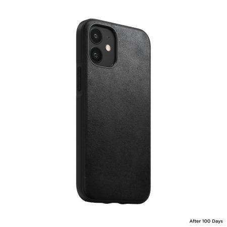 Nomad iPhone 12 mini Rugged Protective Leather Case - Black
