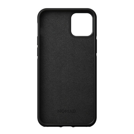 Nomad iPhone 12 Rugged Protective Leather Case - Black