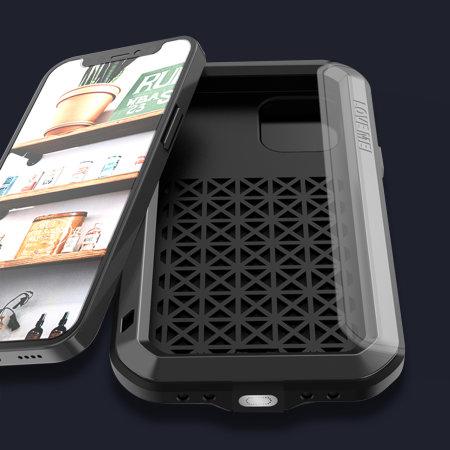 Love Mei Powerful iPhone 12 mini Protective Case - Black