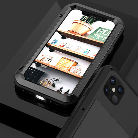 Love Mei Powerful iPhone 12 Pro Max Protective Case - Black