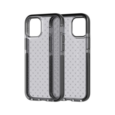 Tech 21 iPhone 12 Pro Evo Check Protective Case - Smokey Black