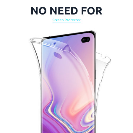 Olixar FlexiCover Full Body iPhone 12 Gel Case - Clear