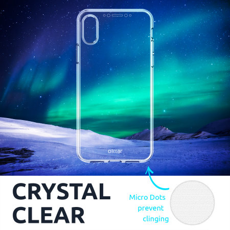 Olixar FlexiCover Full Body iPhone 12 Pro Max Gel Case - Clear