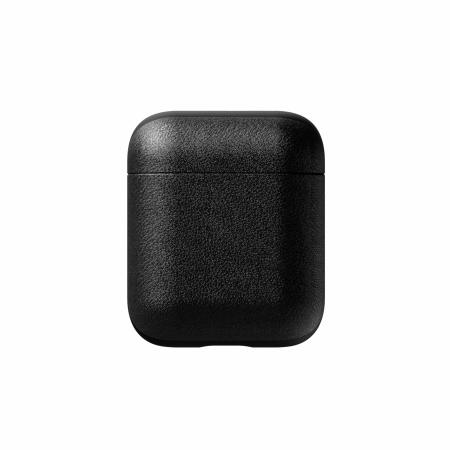 Nomad Airpods Genuine Leather Case - Black