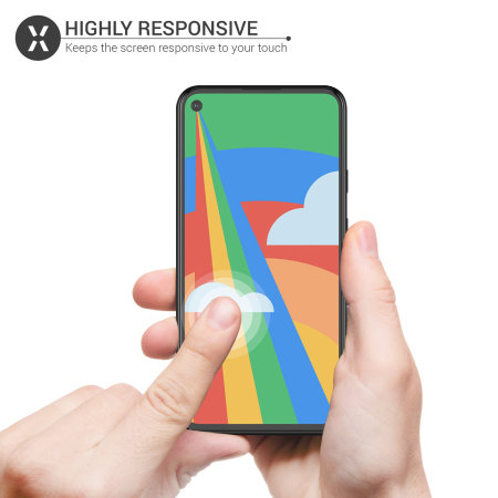 Olixar Google Pixel 4a 5G Tempered Glass Screen Protector