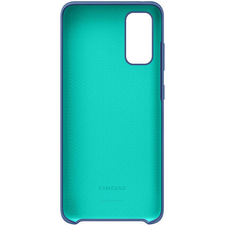 Official Samsung Galaxy S20 FE Silicone Cover - Navy