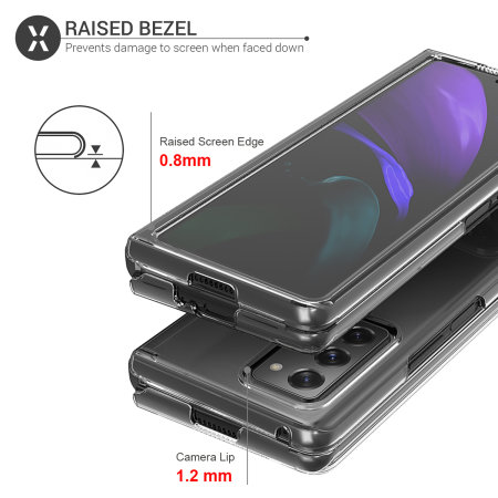 Olixar ExoShield Samsung Galaxy Z Fold 2 5G Case - Clear