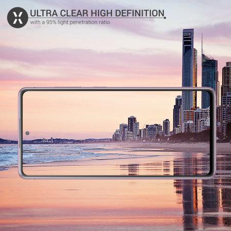 Olixar Samsung Galaxy S20 FE Camera Protectors - Twin pack