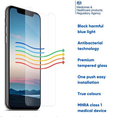 Ocushield iPhone 12 mini Anti-Blue Light Glass Screen Protector
