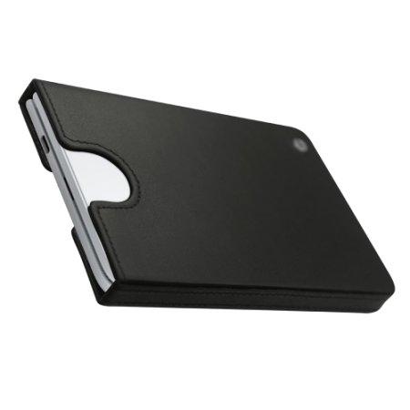 Noreve Surface Duo Premium Leather Pouch Case - Black